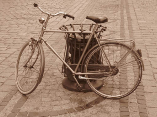 bicycle sepia scaled