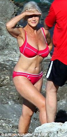 Helen Mirren bikini